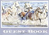 Guest Book: Ranch Vacation, Cabin Retreat, Beach Hut, Visitor's Sign In Book.