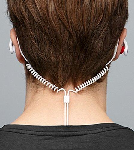 『パイオニア BASS HEADシリーズ 密閉型カナルイヤホン 耳掛け式 スポーツ用 防水 ホワイト SE-E721-W』のトップ画像