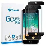 Tentoki Protector de pantalla de cristal templado para iPhone 6...