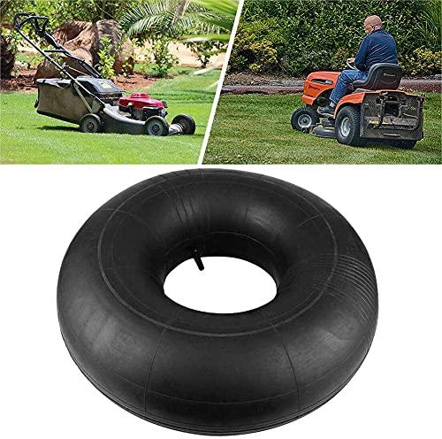 Hicollie Schlauch Luftschlauch, 15-Zoll-TR13-Schlauch, Rasenmäher-Reifenschlauch mit geradem Schaft mit geradem Ventil für Traktor 15x6.00-6, ATV-Reifen, Handwagen Rasenmäherreifen