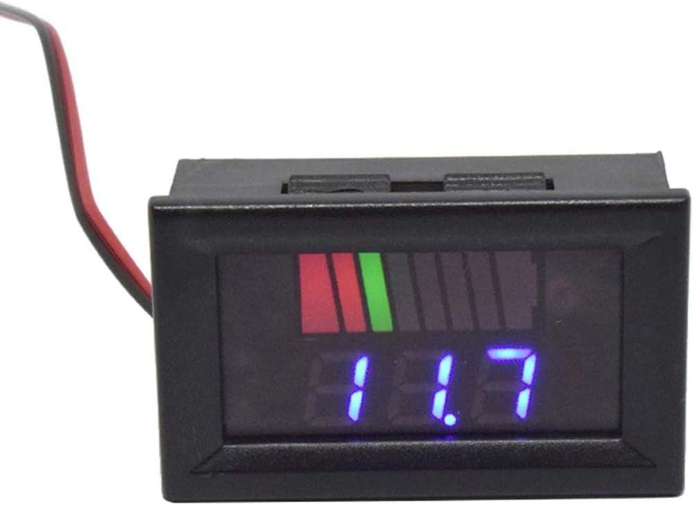 COUYY Digital Voltmeter 12v lowest price 24v Capacity Battery 72v Indicat 84v Ranking TOP15