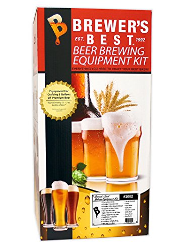 Brewer's Best Deluxe 1002 Beer Home Equipment Kit w/Glass Carboy Included