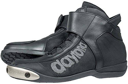 Daytona Boots Motorradschuhe, Motorradstiefel kurz AC Pro Stiefel schwarz 46, Herren, Sportler, Ganzjährig, Leder