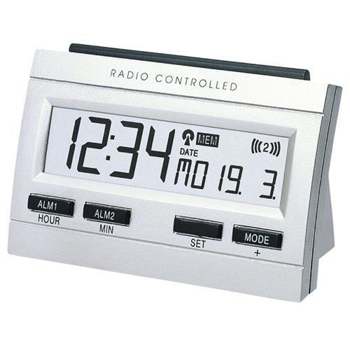 WT 87 Draadloze wekker, met binnentemperatuurweergave en memo-alarmfunctie.