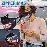GENBREE Zipper Mouth Cover Tokyo Ghoul Kaneki Mouth...
