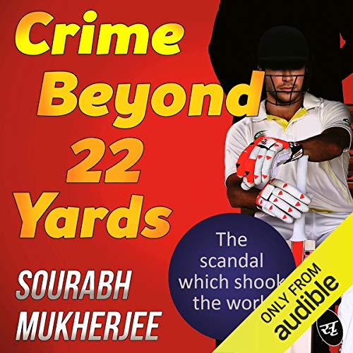 Crime Beyond 22 Yards audiobook cover art