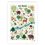 byGraziela Poster - Im Wald   Lernposter Deutsch  