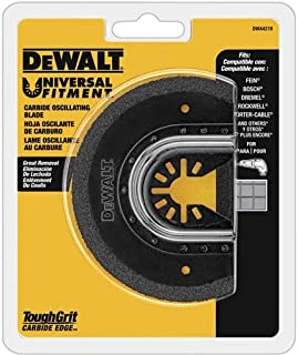 DEWALT Oscillating Tool Blade for Grout Removal, Carbide (DWA4219)