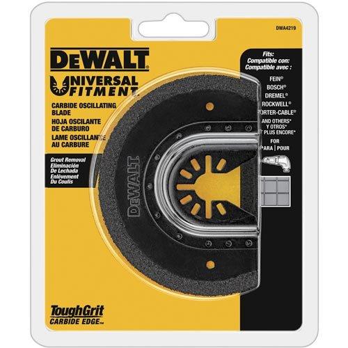 DEWALT Oszillierende Werkzeugklinge zum Entfernen von Mörteln, Hartmetall (DWA4219)