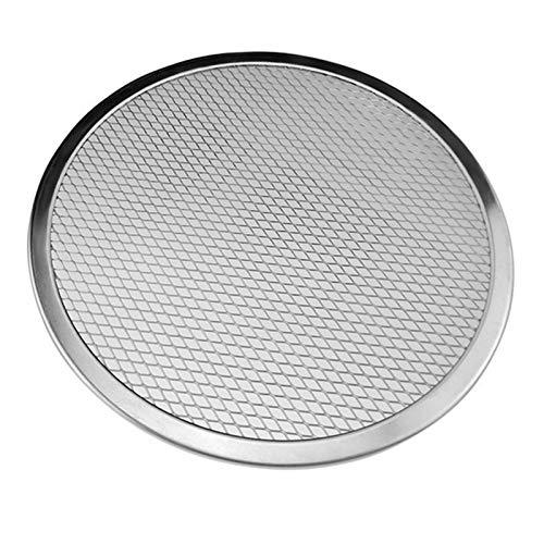 Plato Pizza Pizza-Tray-Mesh-aluminio sin fisuras de la crepe de pizza de pantalla Herramientas Bandeja de horno for hornear neto hornada de la cocina Bandeja Para Pizza (Size : 6 inch)