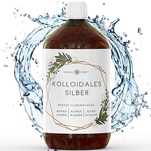 Kolloidales Silber - 100% natürliches Silberwasser mit 50 ppm (1000ml)