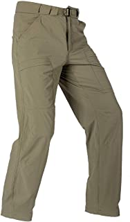FREE SOLDIER Men's Outdoor Cargo Hiking Pants Lightweight Waterproof Quick Dry Tactical Pants Nylon Spandex