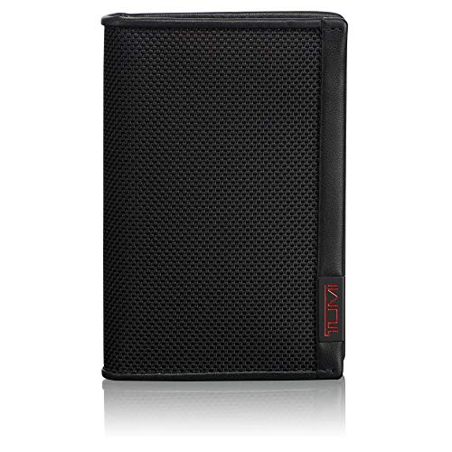 TUMI - Alpha Multi Window Card Case Wallet with RFID Lock for Men - Black