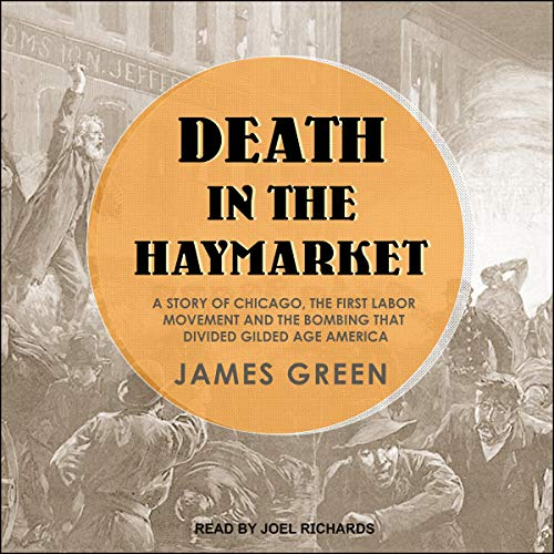 Death in the Haymarket audiobook cover art
