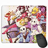 Un-der-Tale Monsters Durable Gaming Mouse Pads Custom Overhand Keyboard Mouse Mat Wrist Pad 10' X 12' Gamepad