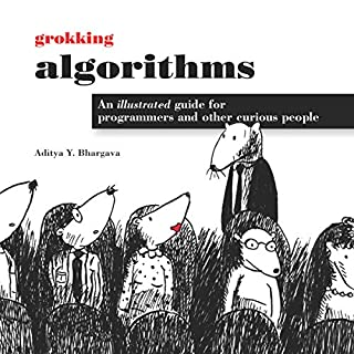 Grokking Algorithms audiobook cover art