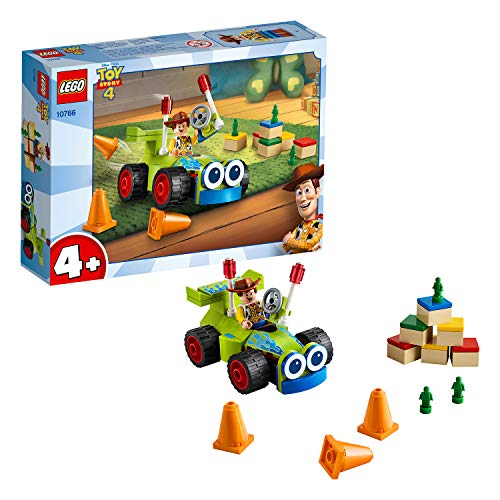 LEGO Juniors Woody e RC, Gioco per Bambini, Multicolore, 191 x 141x 46 mm, 10766