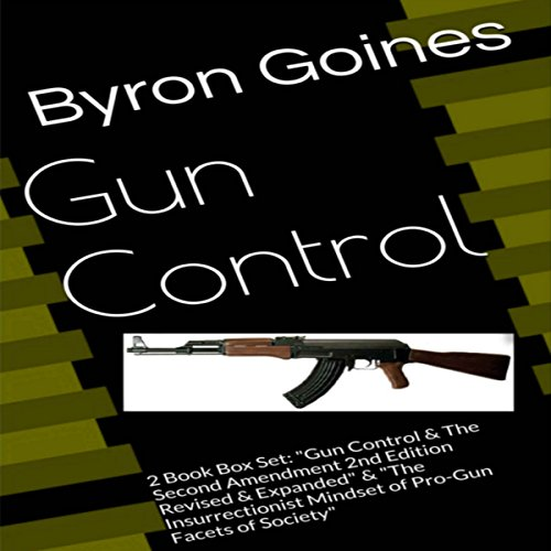 Gun Control audiobook cover art