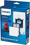 Philips fc8001/01Set di filtri di ricambio per aspirapolvere con sacchetto, Bianco