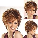 BBHair Perruque bouclée en Cheveux naturels pour Femme - Perruque de Cheveux Humains...