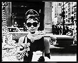 1art1 Audrey Hepburn Mini-Poster und Kunststoff-Rahmen -