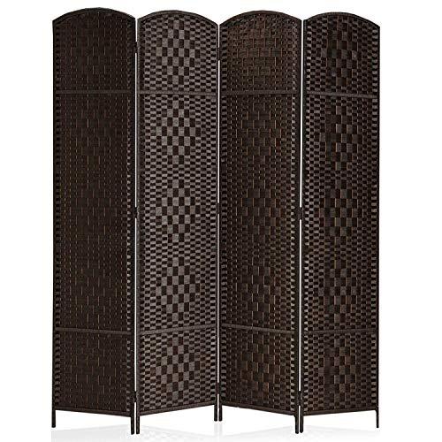 Rose Home Fashion RHF 6 ft.Tall-15.7' Wide Diamond Weave...