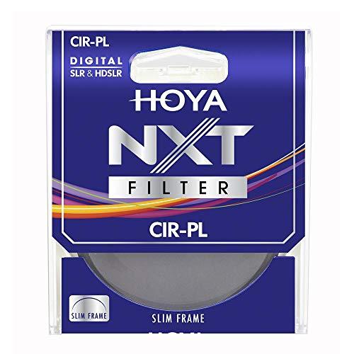 58mm Hoya NXT Circular Polfilter – Aluminiumrahmen mit niedrigem Profil