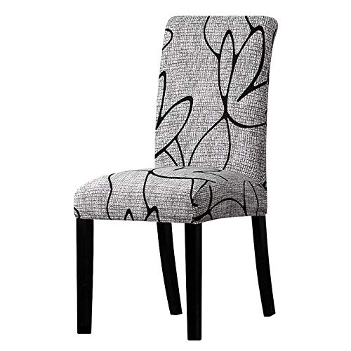 PPOOLLK spandex elastische print afneembare eetkamerstoel hotel banket stoelhoezen Universal sizes K085
