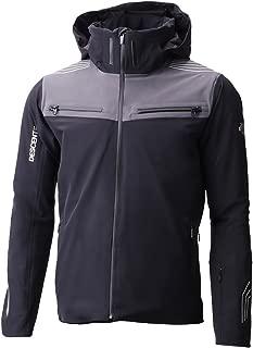 Mens Swiss Ski Team Jacket (Black/Gun Metal/X-Large)
