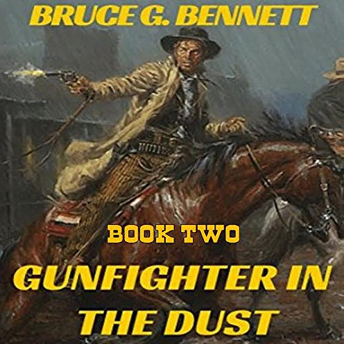 Gunfighter in the Dust audiobook cover art