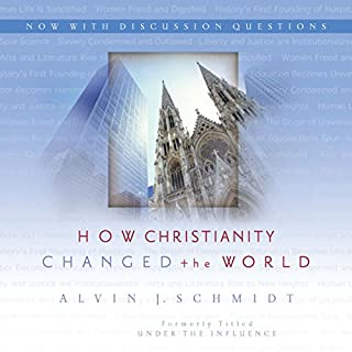 How Christianity Changed the World audiobook cover art