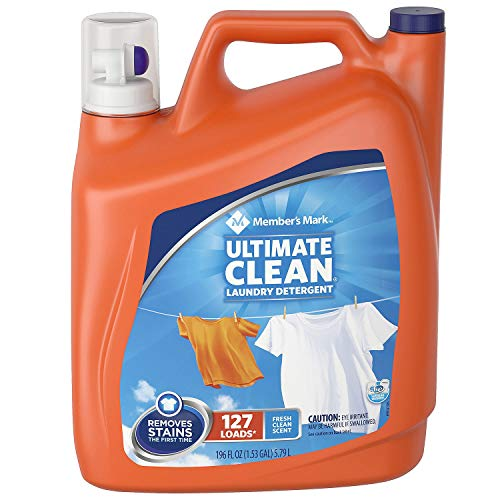 Member's Mark Ultimate Clean Laundry Detergent, Fresh Clean, 127 loads