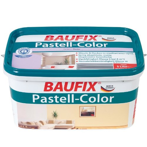 BAUFIX Pastell-Color Wand- & Deckenfarbe, koralle, 5L