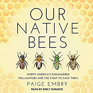 Our Native Bees audiobook cover art