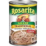 Rosarita No Fat Traditional Refried Beans, 16 oz