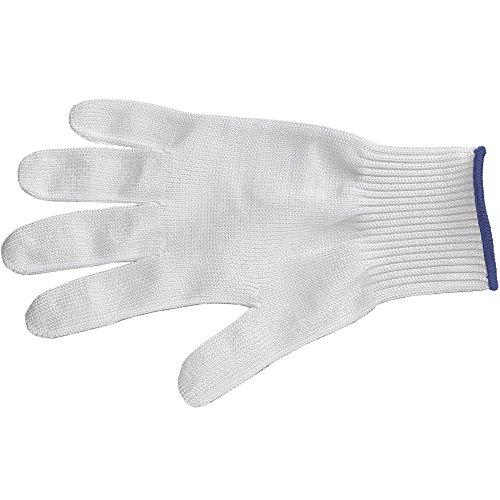 Victorinox 7.9037.L Gant Anti-Coupure, Acier Inoxydable, Blanc, 30 x 5 x 5 cm