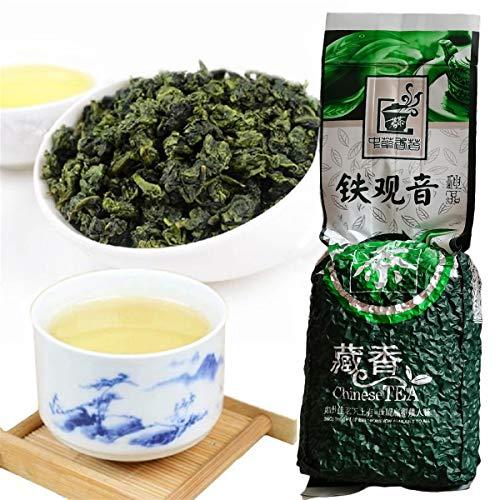 250g (0.55LB) Tieguanyin Oolong Tea Chinese Tikuanyin Té verde Anxi Tie Guan Yin Salud orgánica natural Auténtico sabor de la rima Té adelgazante Comida verde