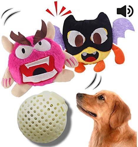 NEILDEN Upgrade Interactive Squeaky Dog Toys Plush...
