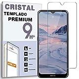 REY Protector de Pantalla para Nokia 2.4, Cristal Vidrio Templado Premium