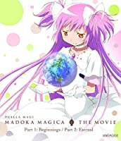 Puella Magi Madoka Magica the Movie Part 1 & 2 BLURAY (Standard Edition)