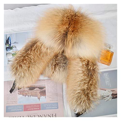 Zxebhsm Chapeau d'hiver 2020 Nouveaux Hommes en Plein Hiver Hiver Naturelle BOUTES DE CHARGÉS Chaussures Chaussures DE Travaille DE CHAUPEUR DE FOURRANT VRAIME VRAIME (Farbe : Red Fox Fur)