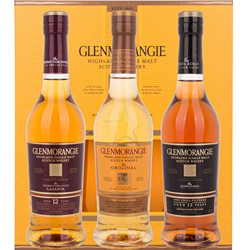 Glenmorangie The PIONEERING COLLECTION Pack 3x0,35l 43,00% 0,35 Liter