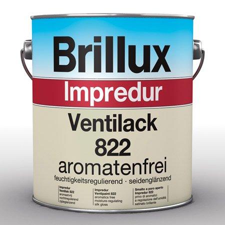 Brillux Impredur Ventilack 822 weiß 3 LTR
