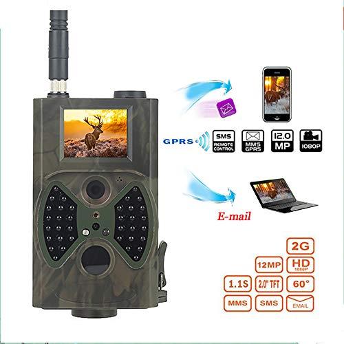 QOUP Cámara IR 1080P HD Digital Rastro de la Caza, el Movimiento Scout Video Infrarrojos gsm GPRS 12MP, cámara de vigilancia para Caza