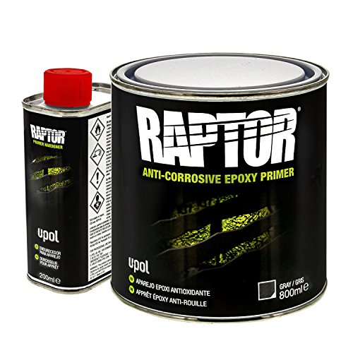 Raptor Gray 4:1 Anti-Corrosive Epoxy Primer Kit UP4831 1L, 2D-3 Kubikmeter
