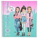 Depesche 10452 Sticker Book TopModel Dress Me Up, Sortiert