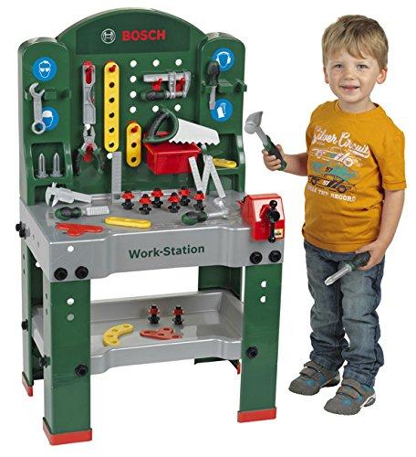 Theo Klein 8580 – Bosch Workstation 60 x 78 cm, Spielzeug - 3