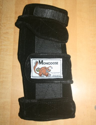 Mongoose 'Optimum Bowling Wrist Support Right Hand, Small, Black