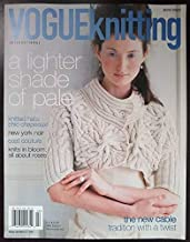 Vogue Knitting International Winter 2006/07 Magazine A Lighter Shade of Pale