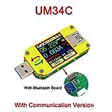 ARCELI APP USB 3.0 Typ C DC Voltmeter Amperemeter Spannung Strommesser Batterieladung messen...